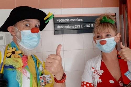 foto Payasospital vuelve a los hospitales de la Comunitat Valenciana Vuelta hospitales